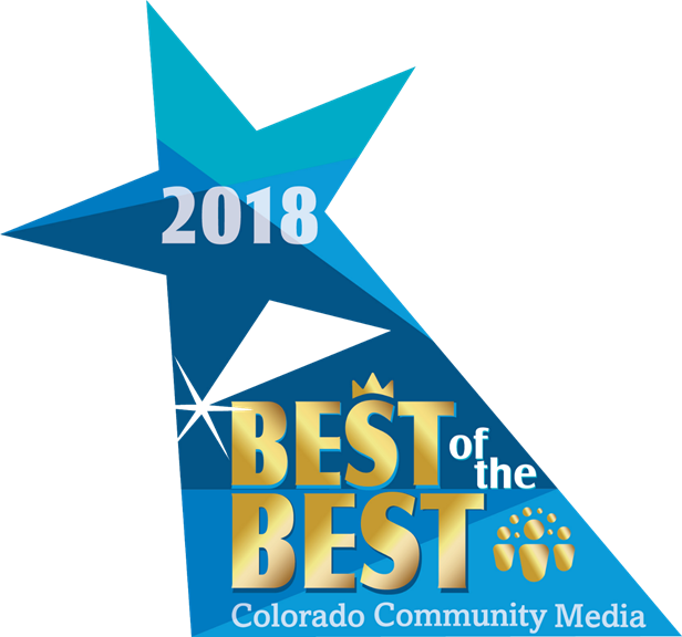 2018 Best of the Best Award from Colorado Community Media
