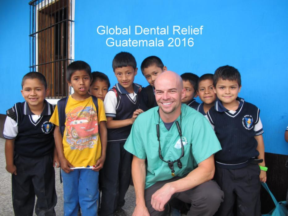 Dr. Brandt Jones in Guatemala fo Global Dental Relief
