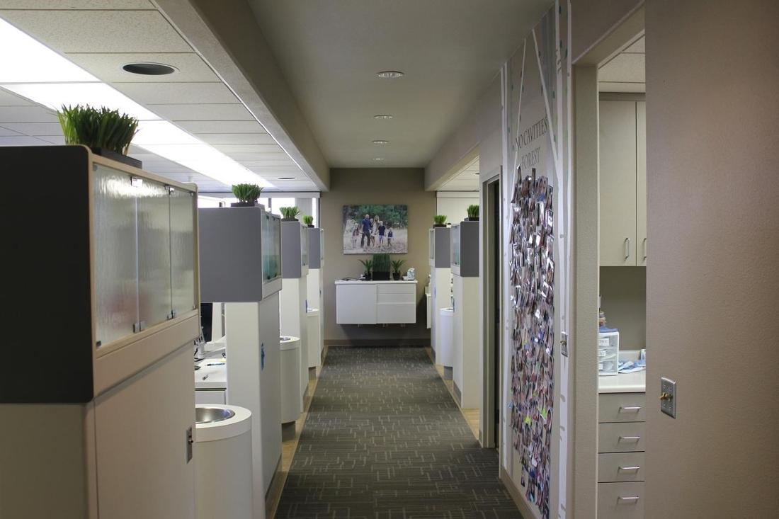 Hallway in Office | Oakwood Dental
