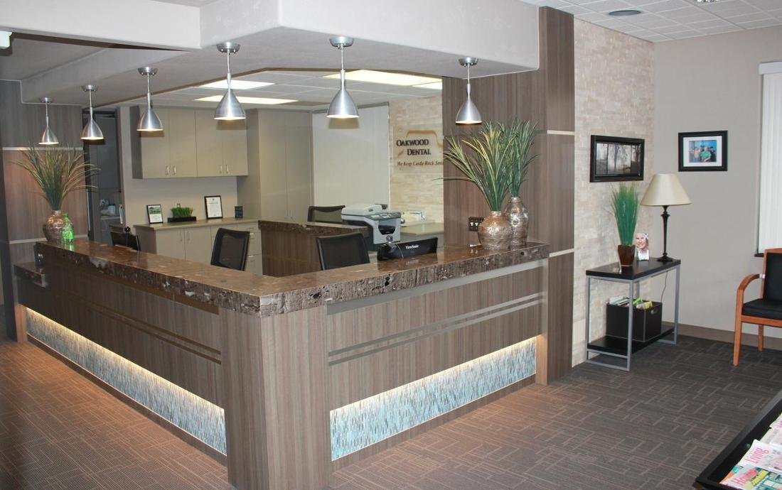 Front Desk of Oakwood Dental | Castle Rock CO Dentist