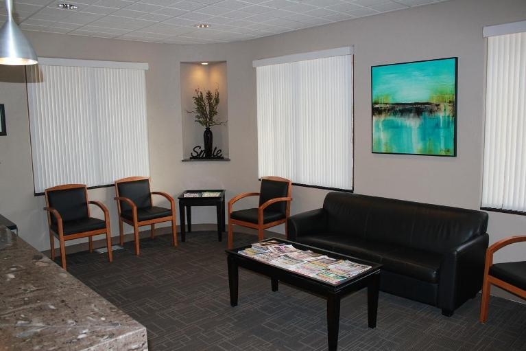 Comfortable Waiting Room | Oakwood Dental
